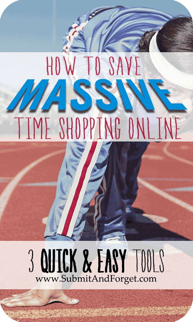 how to save massive time shopping online